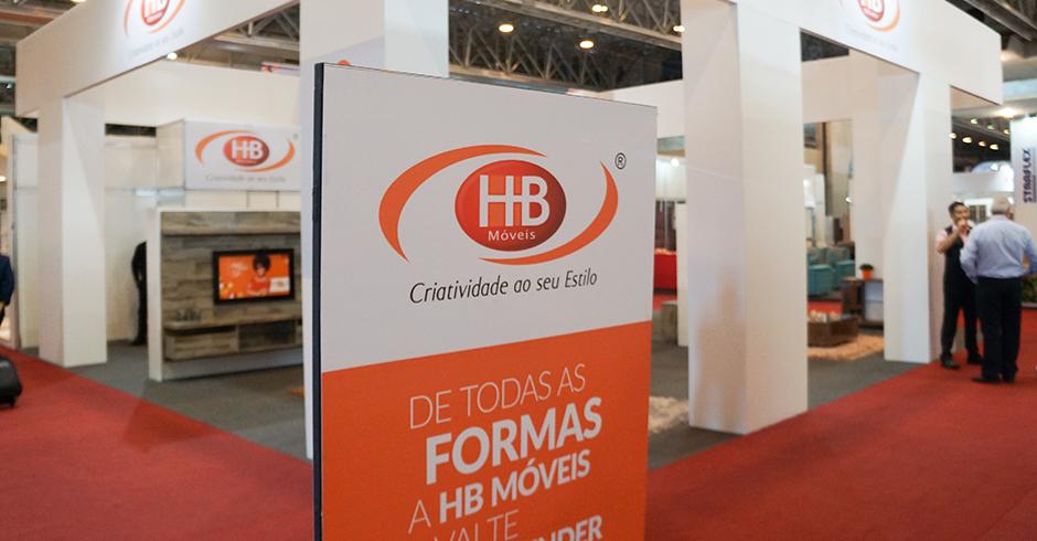 A HB Móveis recebeu o prêmio de Expositor Destaque, em função do grande número de clientes convidados para o Evento