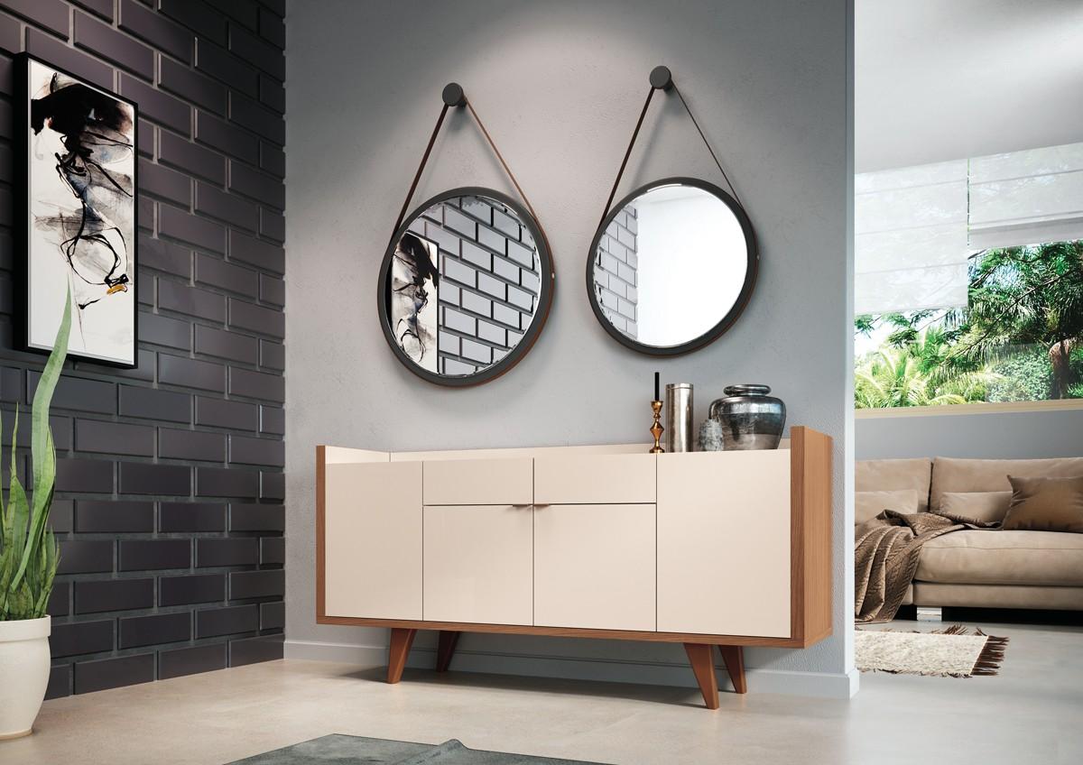 Espelhos 8060 (67cm) e 8040 (54cm)